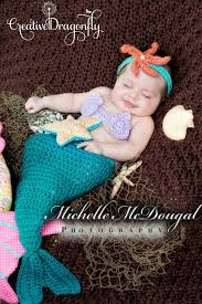 Newborn Halloween Costumes 0 3 Months Newborn Mermaid Tail Photo Prop Costume 0 3 Month Mermaid