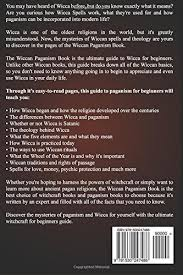 wiccan paganism witchcraft wicca for beginners guide book to