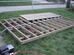 storage shed foundation which type is best garden pinterest