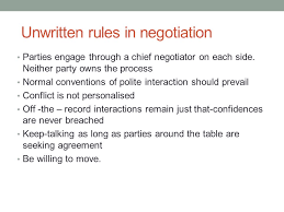 Seeking Negotiation Part Of Unit 7 Negotiation Learning Outcomes After The Lecture The