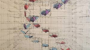wildly detailed drawings that combine math and butterflies cnn com