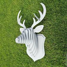 buy wooden deer head 3d puzzle taxidermy animals stag head trophy