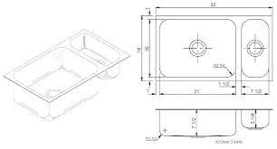 Kitchen Sink Width Standard Kitchen Sink Sizes Australia Home And Sink
