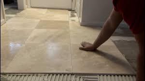tile simple marble tile floor installation room design plan