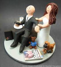 gamer wedding cake topper gamer groom and shopaholic fashionista wedding cake