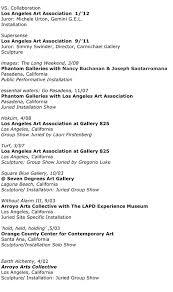 bio vs resume artist resume