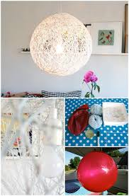 How To Make A Balloon Chandelier 16 Genius Diy Lamps And Chandeliers To Brighten Up Your Home Diy