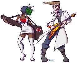Doctor And Nurse Rocker Doctor And Nurse Teevee By Ficusart On Deviantart