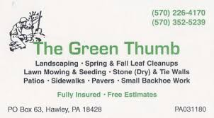 Green Thumb Landscaping by The Green Thumb Landscaping