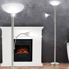 Wohnzimmerlampe Fernbedienung Rgb Led Deckenfluter Mit Fernbedienung Und Lesearm Blade Lampen