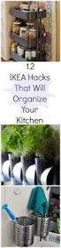 12 stellar ikea hacks that organize your entire kitchen spaces