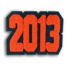 single felt slender letterman jacket number patch award letters