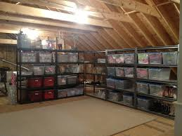 garage loft ideas how to install a partial or full floor in the attic for storage