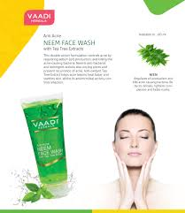 Face Mapping Pimples Anti Acne Neem Face Wash With Tea Tree Extract 60 Ml