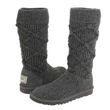 s knit boots canada argyle ugg 5879 argyle knit boots charcoal uggs canada