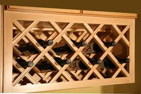 Diy Wood Wine Rack Plans by Wine Rack Kitchen Cabinets