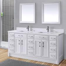 bathroom white luxury double sink bathroom vanities faucets