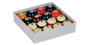 What Is The Standard Size Of A Pool Table Aramith Crown Standard Belgian Pool Ball Set