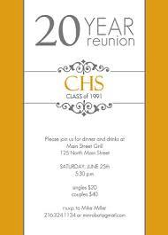 50th high school class reunion invitation golden 20 year class reunion invitation school reunion ideas