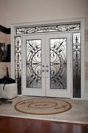 Exterior Door Inserts Classic Style Wrought Iron Door Inserts Entry Toronto By