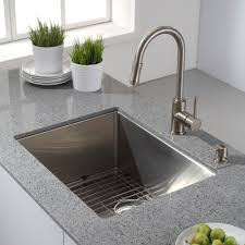 Kitchen Faucet Ideas by Decor Modern Kitchen With Kitchen Island And Kraus Sink Also