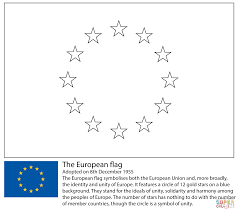 Flag Of The European Union European Union Flag Coloring Page Free Printable Coloring Pages
