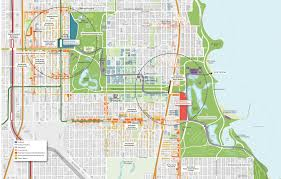 El Chicago Map by University Of Chicago Tag Archdaily