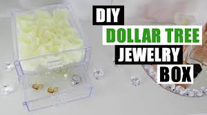 Real Deals On Home Decor Ogden Ut Diy Dollar Tree Floral Jewelry Box Venus Et Fleur Inspired Diy