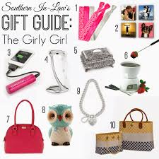 southern in law sil gift guides the girly