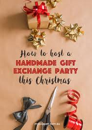 Christmas Party Host - host a handmade christmas gift exchange party my poppet makes