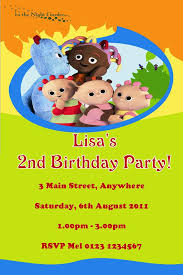 personalised night garden invitations