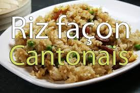 comment cuisiner du riz riz cantonais facile