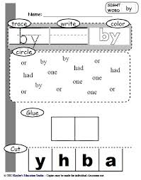 73 sight word practice worksheets i like that they have to