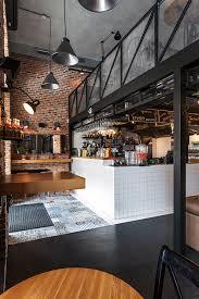 Restaurant Kitchen Design True Burger Bar Kiev Ukraine By Anya Garienchick Via Behance