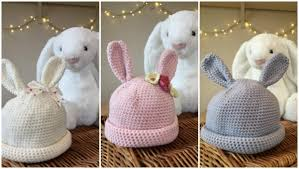 easter bunny hat crochet club bunny hats for babies lovecrochet