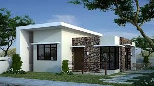 modern home plan house plan modern bungalow house designs and floor plans for small