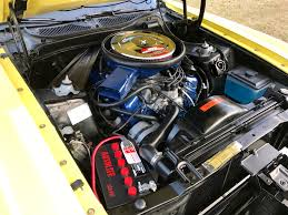 1971 ford mustang mach 1 grabber yellow 351 windsor 4bbl 4