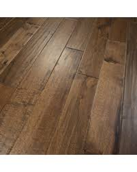 Prefinished Solid Hardwood Flooring Check Out These Bargains On Hickory Scraped Prefinished Solid