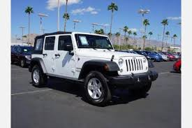 used jeep wrangler for sale in az used 2017 jeep wrangler for sale in tucson az edmunds