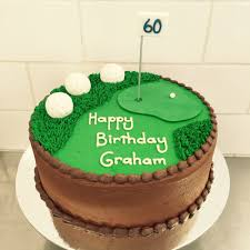 chocolate golf birthday cake image inspiration of cake and