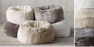 come right fur bean bag chair for you laluz nyc home design