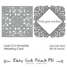 wedding invitation pattern card 5x7
