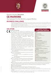 ce bureau veritas ce marking litigation and regulation business