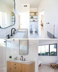 Jack And Jill Bathroom Designs by Scandinavian Influence Makes This New House In California Bright