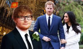prince harry meghan meghan markle prince harry wedding chaos as ed sheeran can t