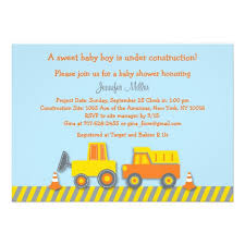 construction baby shower personalized construction baby shower invitations