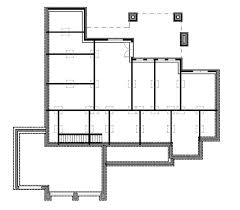 walk out basement floor plans craftsman house plan with 3 bedrooms and 3 5 baths plan 9167