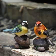 garden birds ornaments creative home accessories resin birds