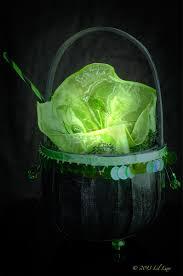 witch cauldron trick or treat bag or candy cauldron that glows