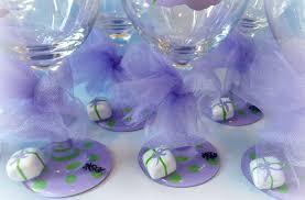 wine glass baby shower baby shower decor baby shower